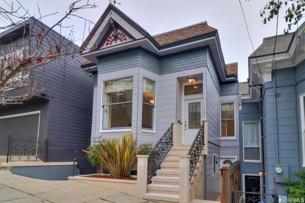 Photo of home for sale at 4540 20th Street, San Francisco CA